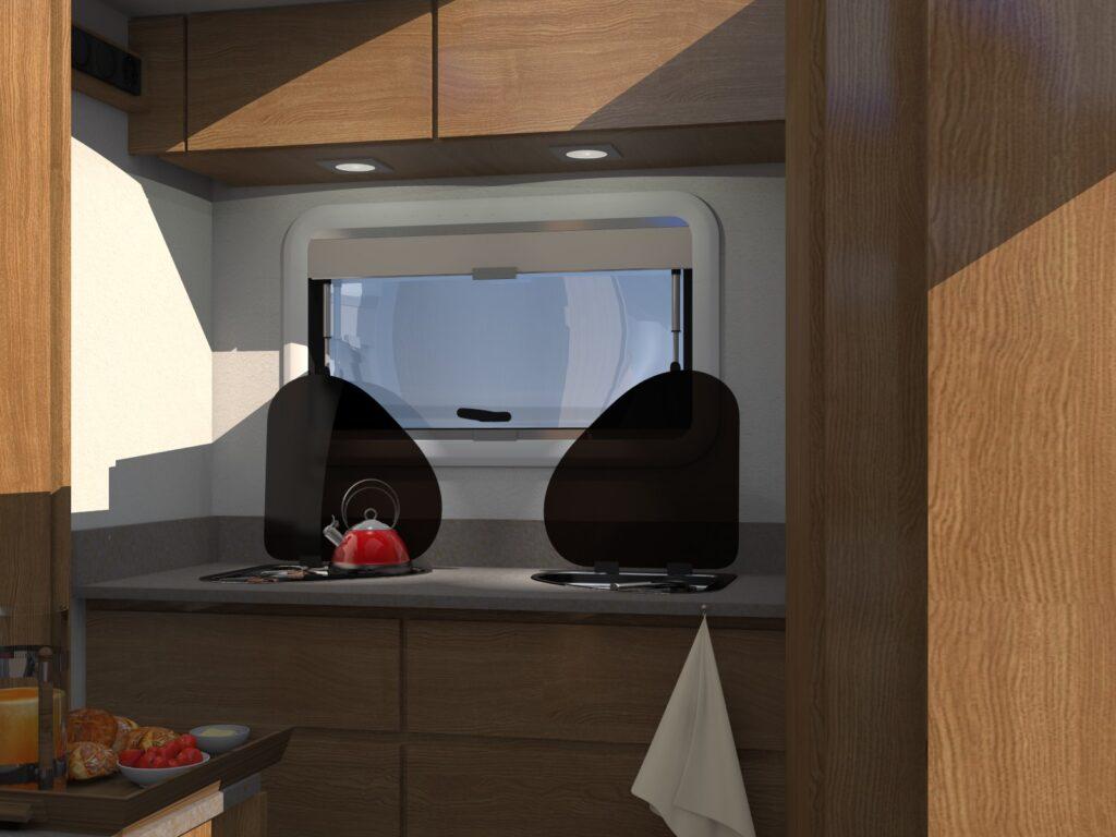 Keuken Interieur Amarok Camper 4x4 roadtrip camper